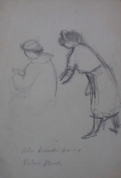 """Two Women – Study"""