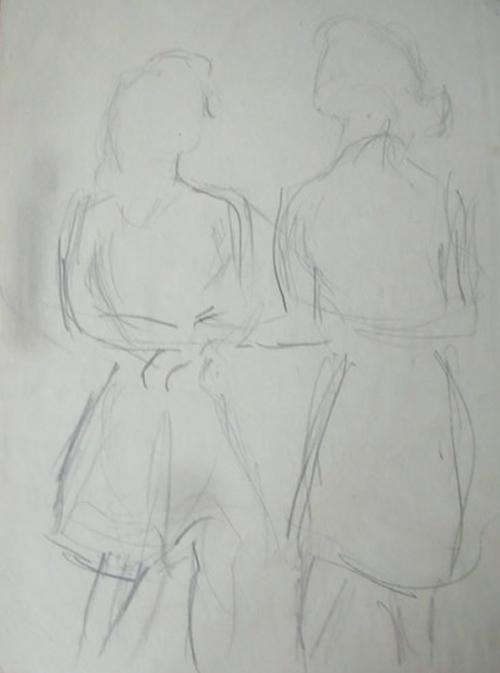 """""""Two Girls Dancing"""""""