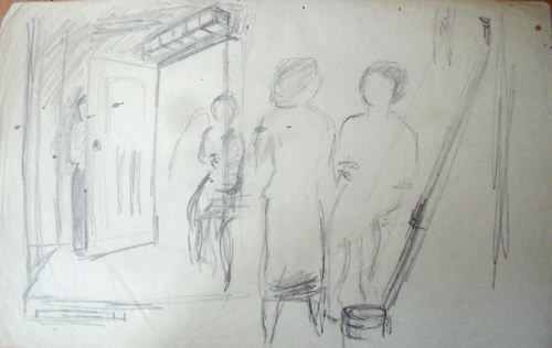 """""""Interior with Figures"""""""