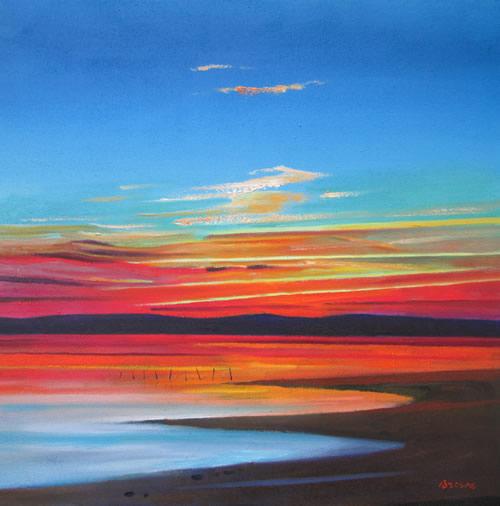 """""""Striped Sky Sunset"""""""