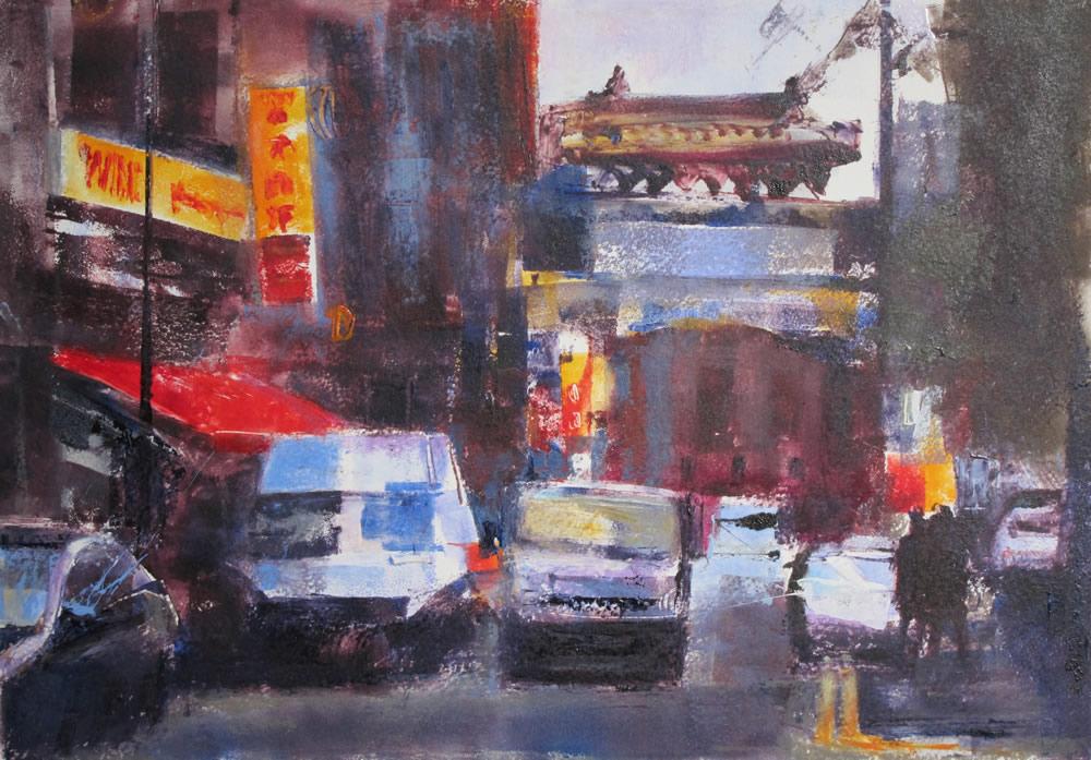 """""""Traffic – Chinatown"""""""