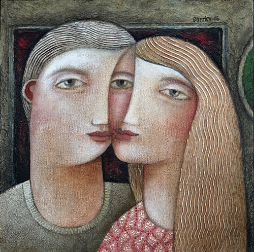 """""""Lovers In Gallery"""""""