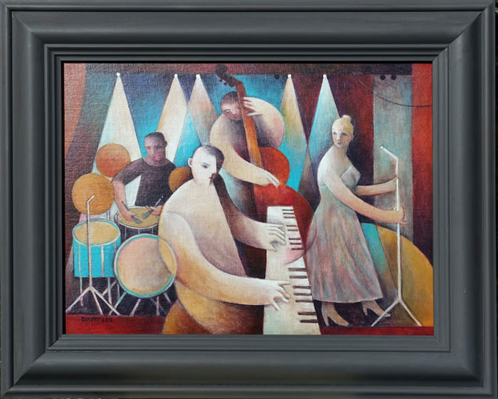 """Piano Trio with Singer"""