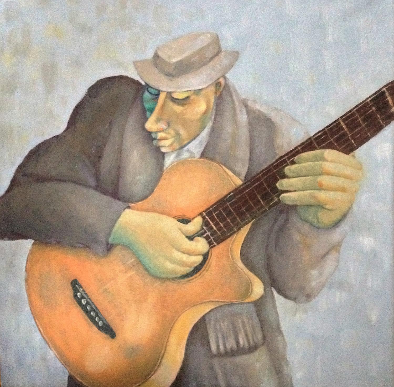 """""""Jazz Guitarist"""""""