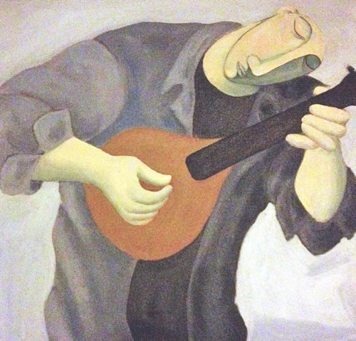 """Mandolin Player"""