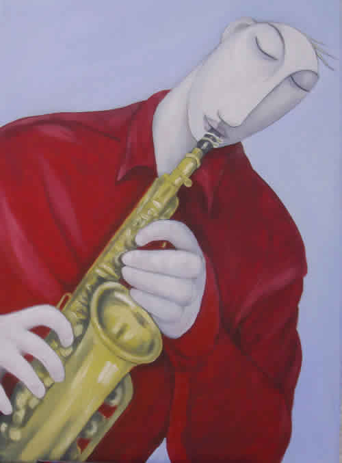 """The Saxophonist"""