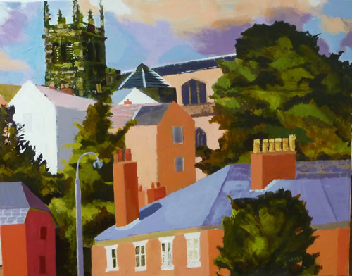 """""""View of Macclesfield"""""""
