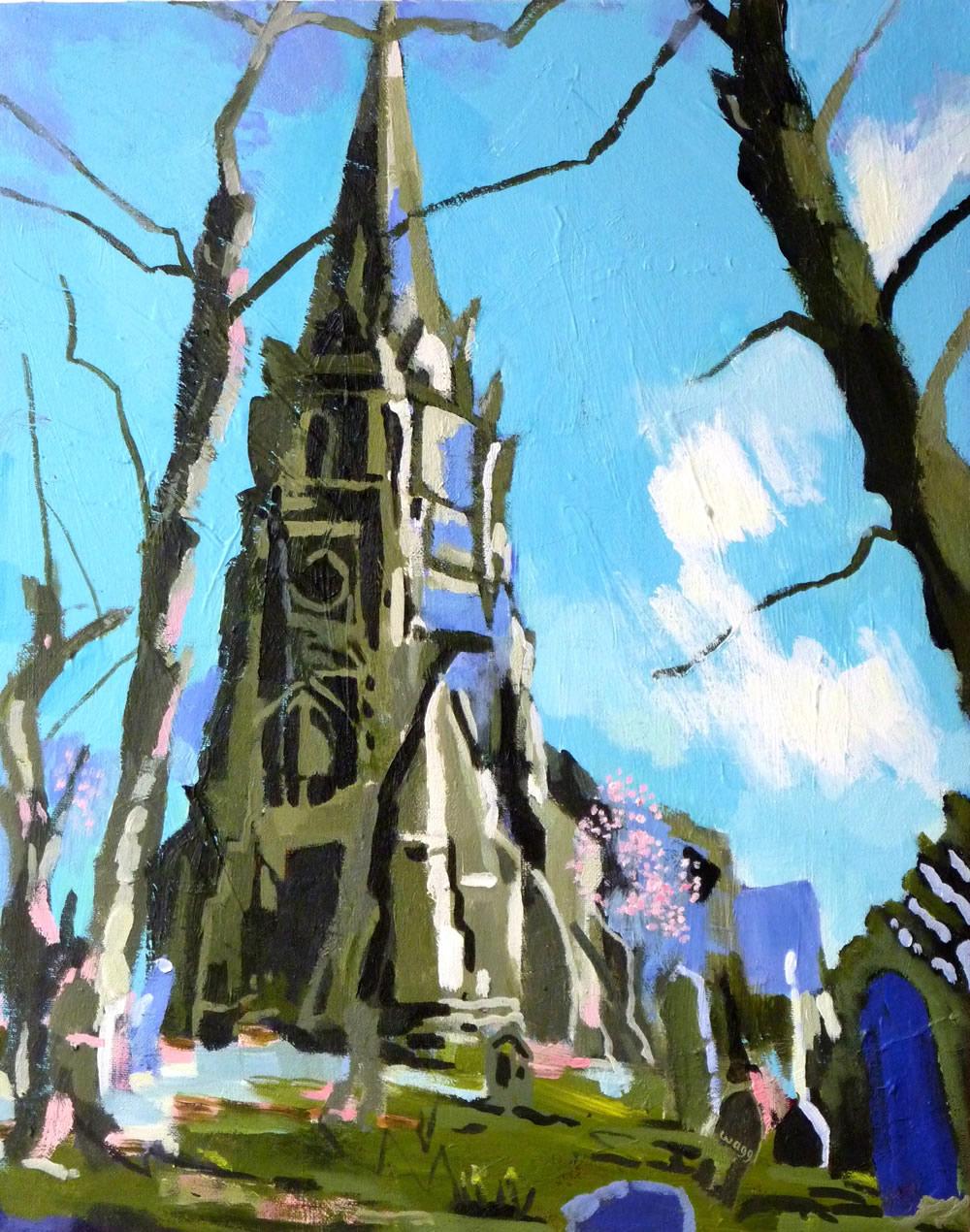 """""""The Old Church"""" (St Mark's Church, Worsley)"""