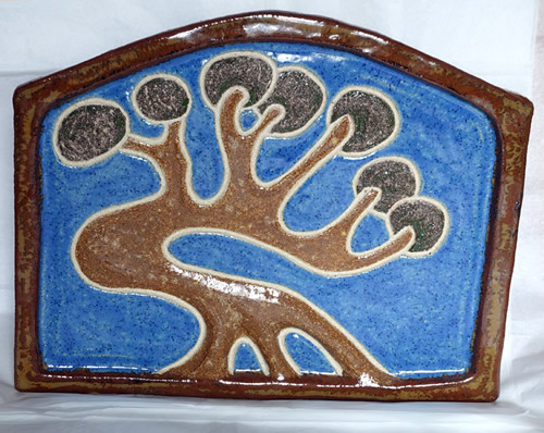"""Single Tree Plaque"""