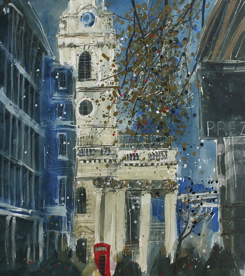 """Shimmering in the Light – St Martin's in the Fields, London"""