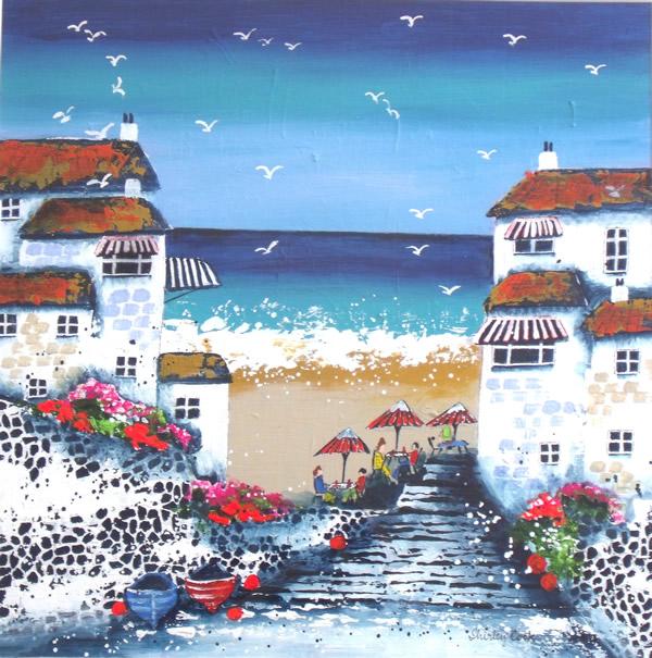 """Beach Cafe, Cornwall"""