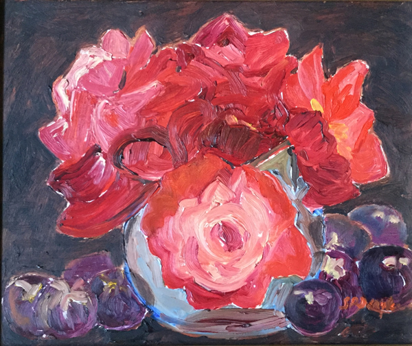 """""""Red Roses with Fruit"""""""
