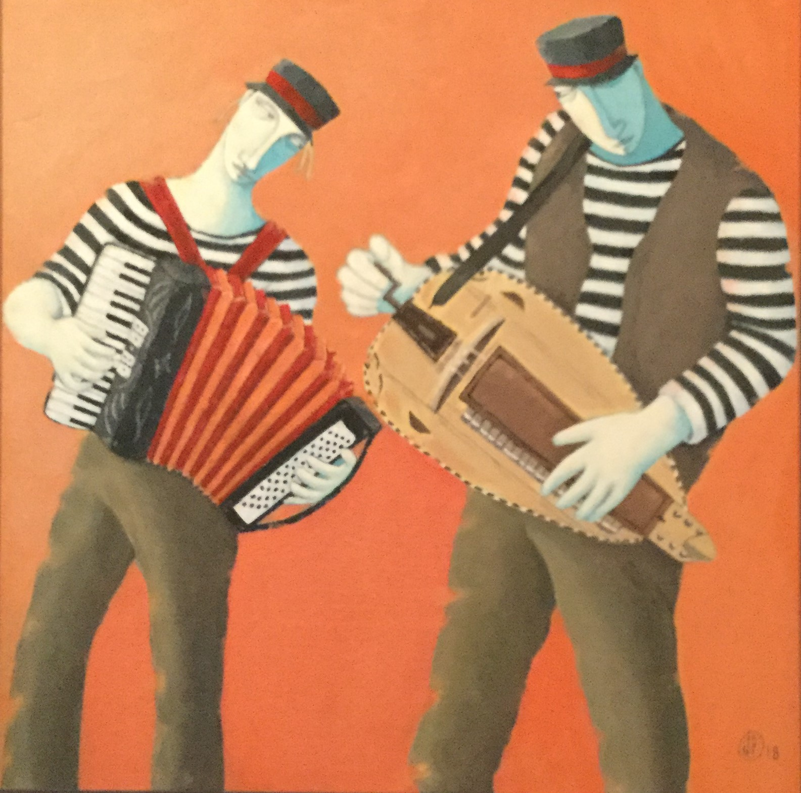 """Accordion and Hurdy Gurdy"""