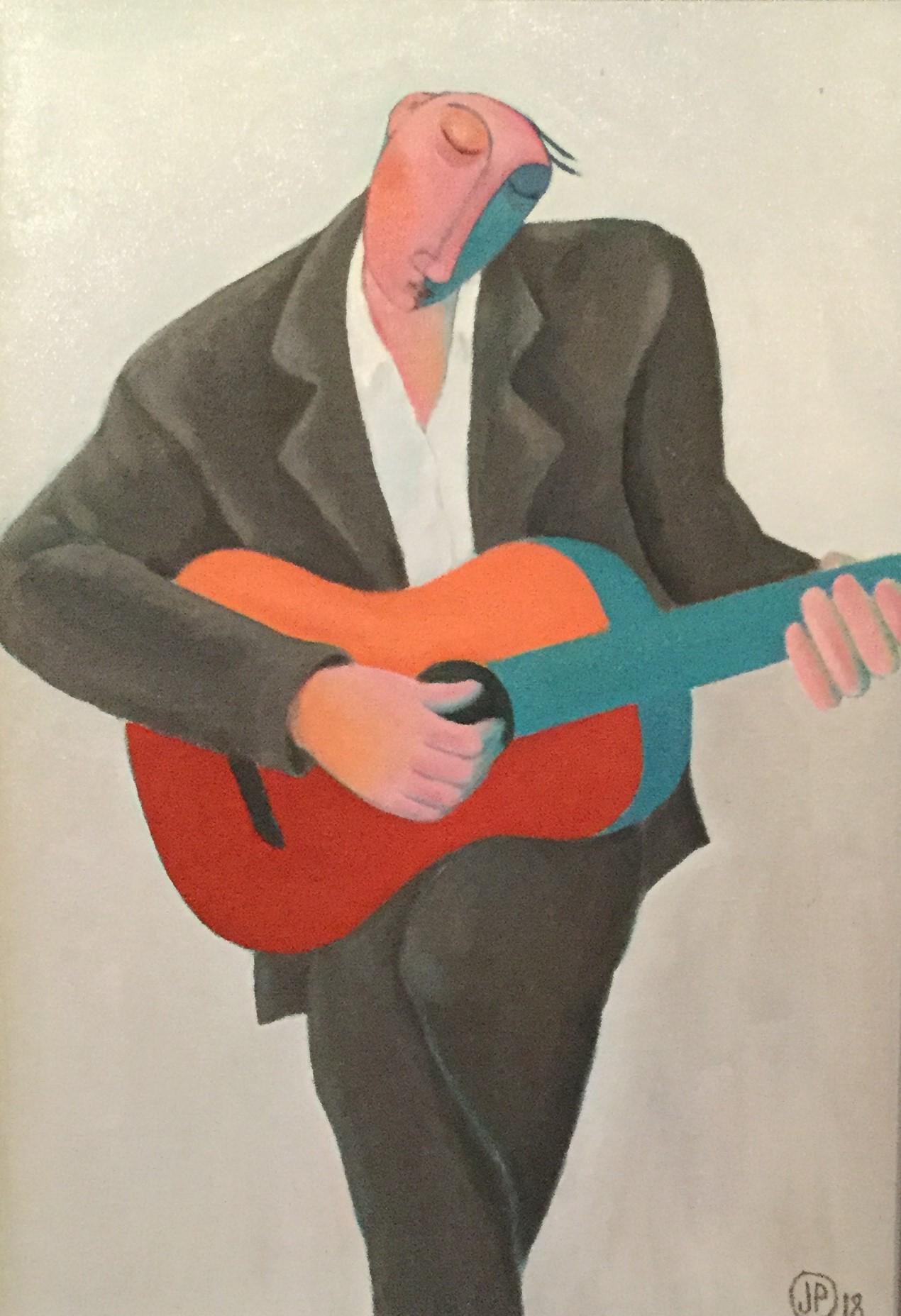 """Blue Guitarist"""