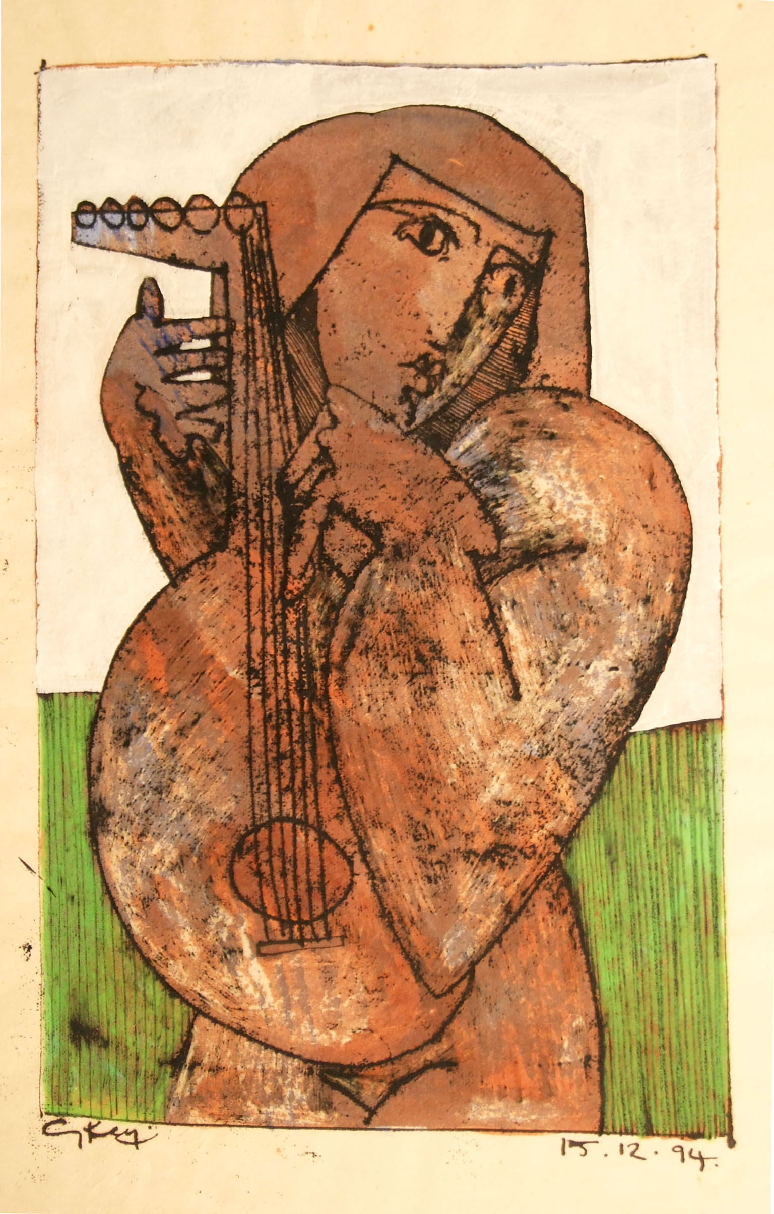 """Lute Player"""
