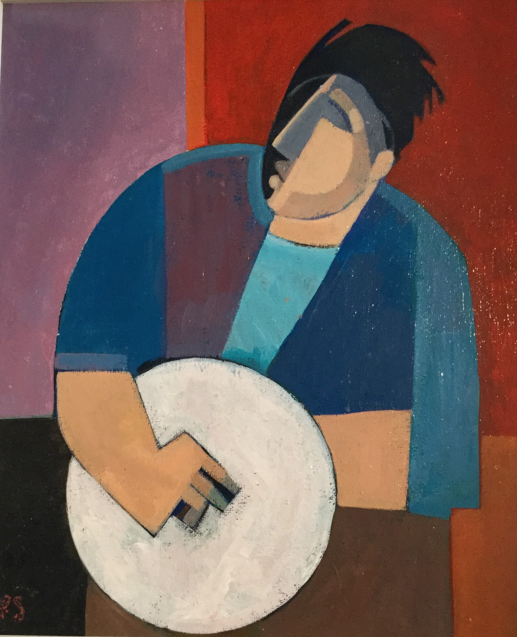 """Bodhran Player"""