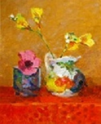 """""""Pink and Yellow Flowers"""""""
