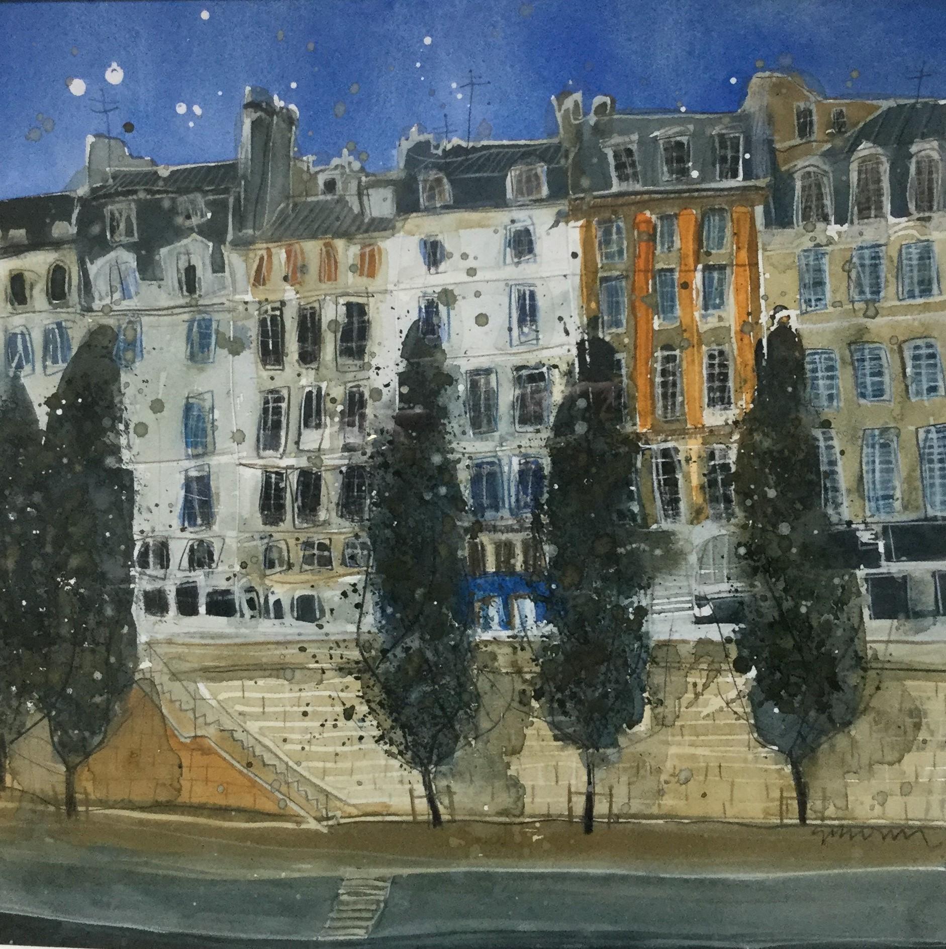 """""""Walk by the Seine, Paris"""""""