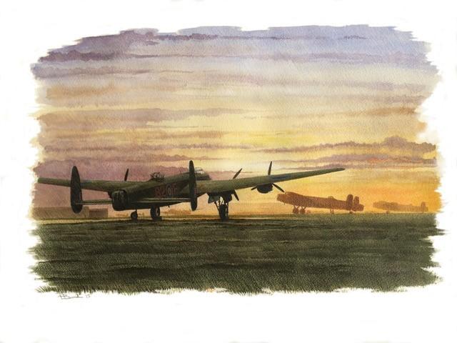 """Sleeping Lancasters"""