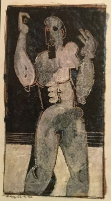 """Standing male figure"""