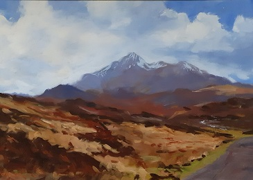 """The Cuillins, Isle of Skye"