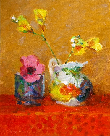 """Pink and Yellow Flowers"""
