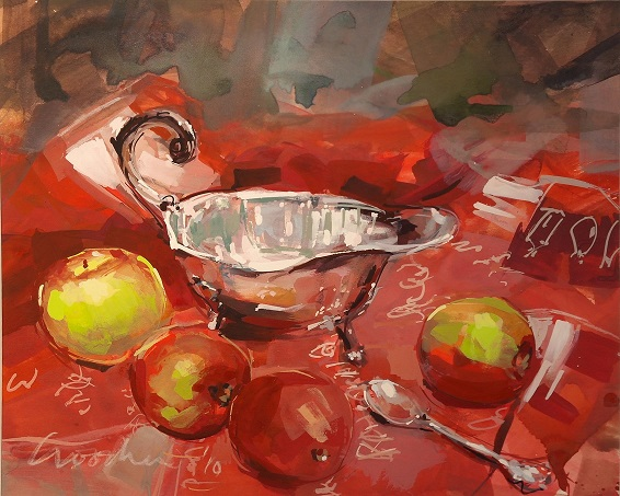 """Windfall Apples and Silver"""