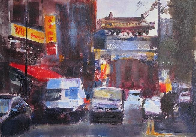 """Traffic – China Town"""