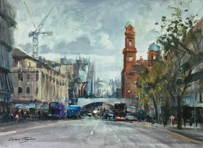 """Oxford Road, Manchester"""