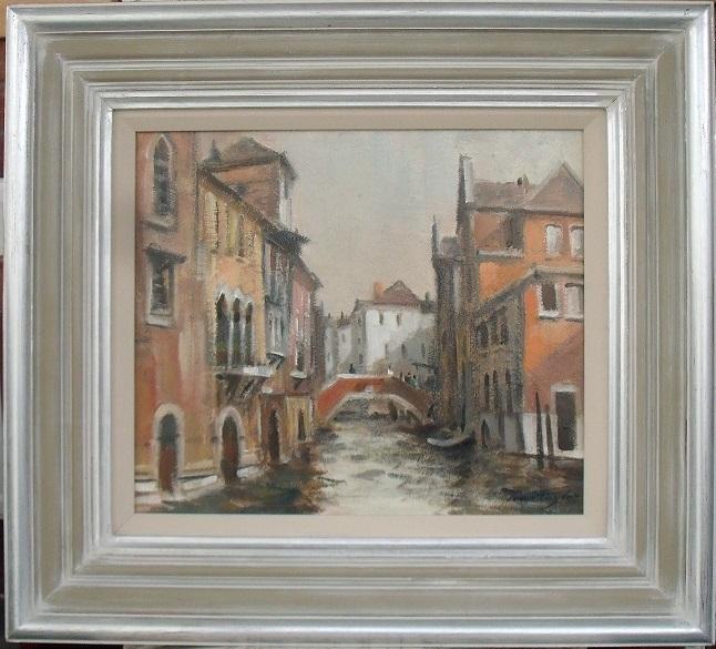 """""""Canal Scene, Venice"""""""