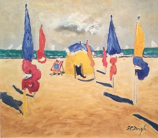 """""""Yellow Beach Tent"""""""