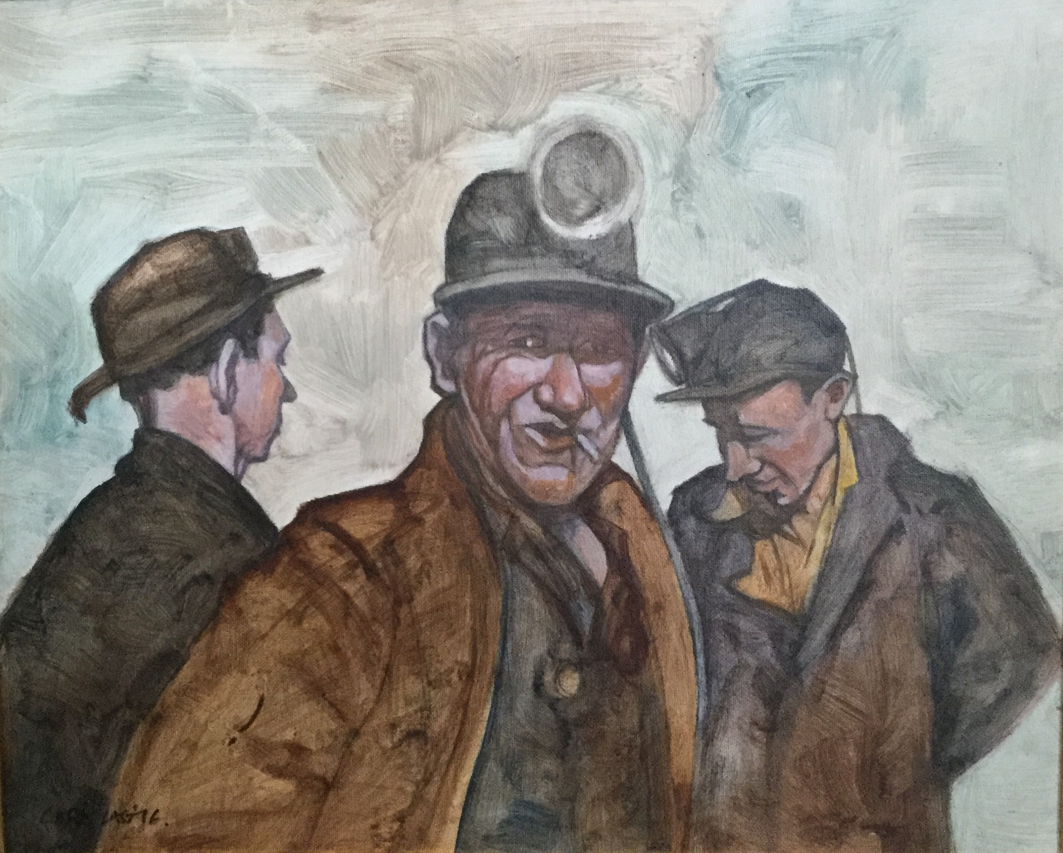 """""""Three Miners"""""""