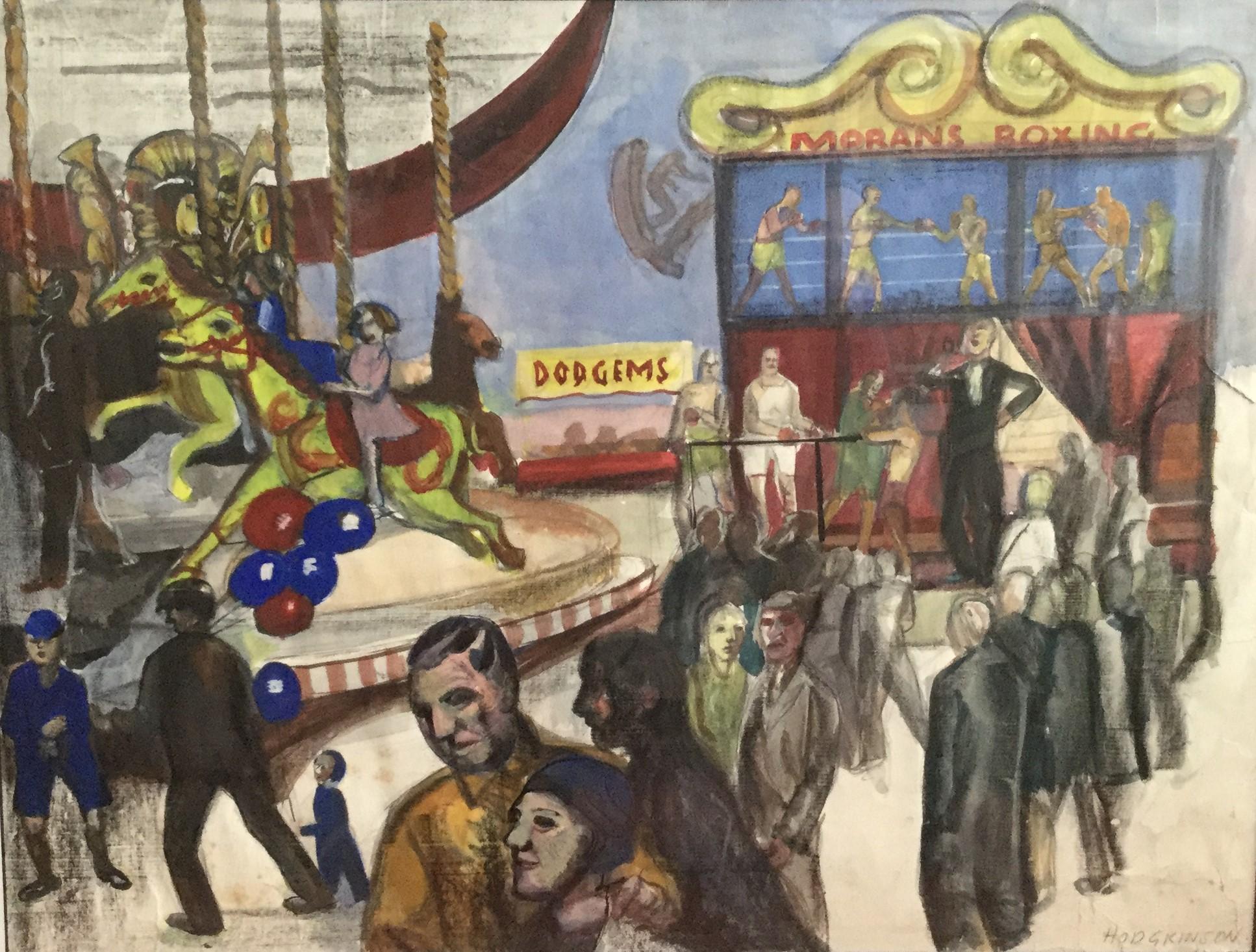 """""""Moran's Boxing Booth – Daisy Nook Fair"""""""