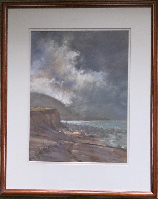 """""""Beach Walk, Criccieth, Wales"""""""