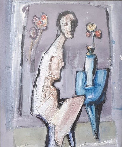 """""""Two Figures (Side 2)"""""""