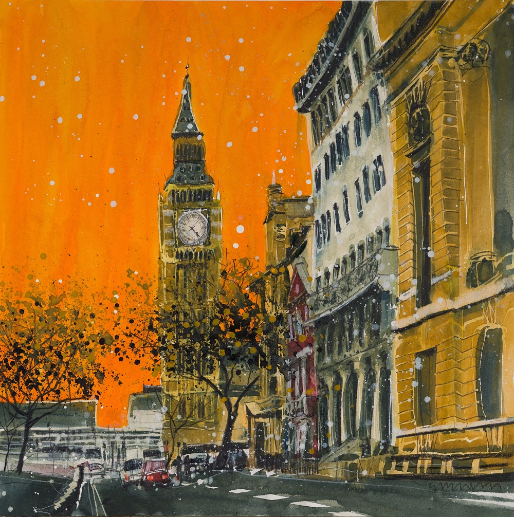 """Dusk in Great George Street"""