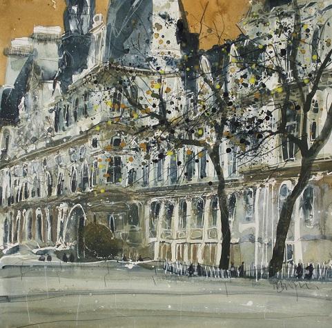 """""""Hotel de Ville, Paris"""""""