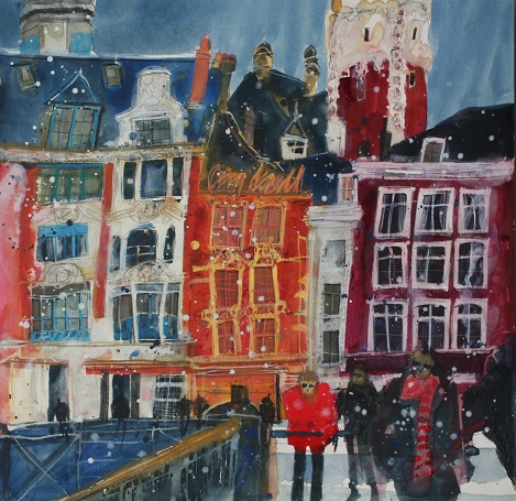 """Winter Visitors, Lille"""