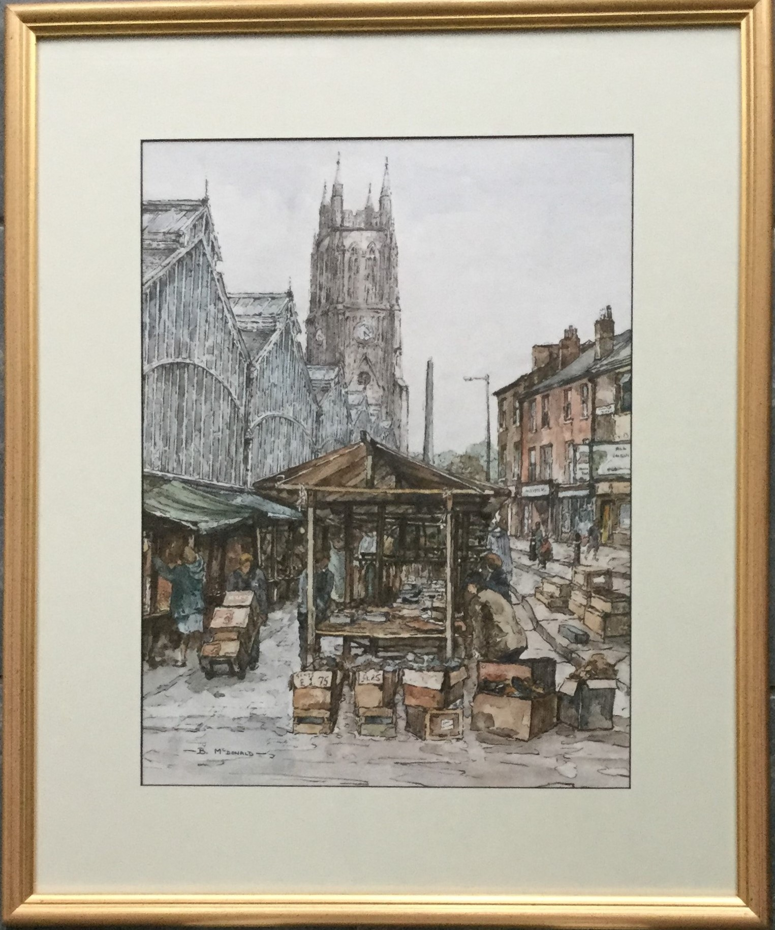 """Stockport Market"""