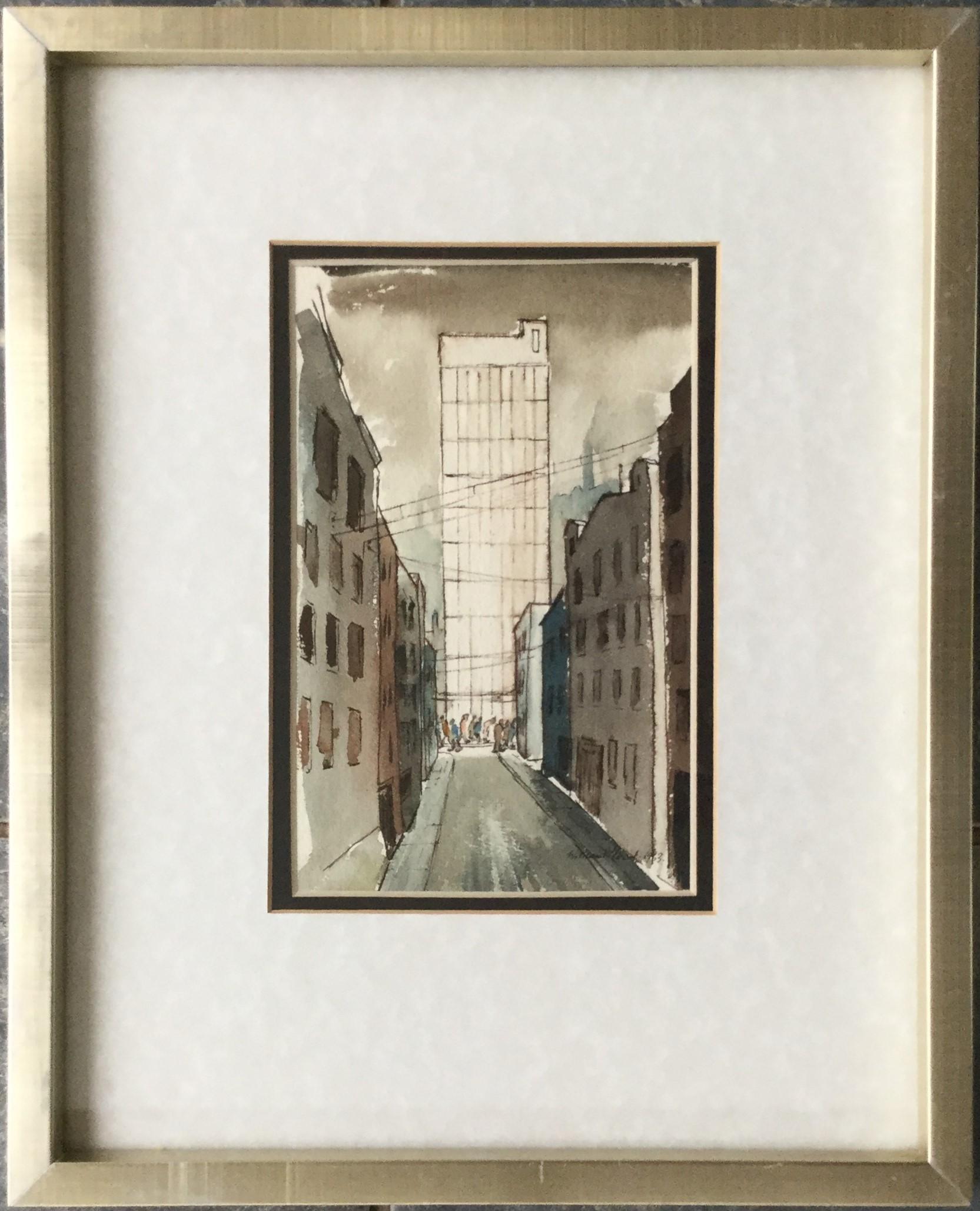 """""""St. James Street, Manchester"""""""